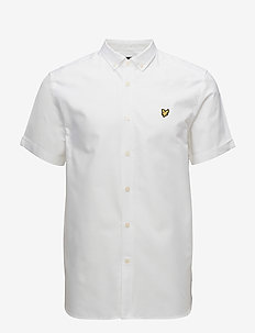 SS Oxford Shirt - WHITE