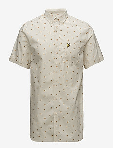 Beach Ball Print Shirt - SEASHELL WHITE