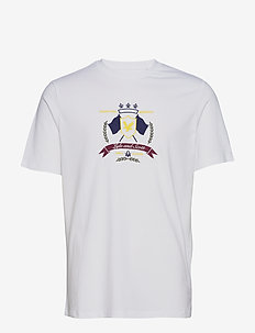 Crest T-Shirt - short-sleeved t-shirts - white