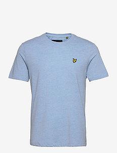 Marl T-shirt - basic t-shirts - fresh blue marl