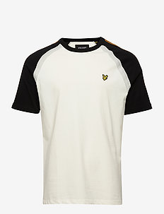 Three Panel Sleeve Tshirt - basic t-shirts - vanilla ice