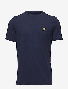 Crew Neck T-Shirt - kortermede t-skjorter - navy