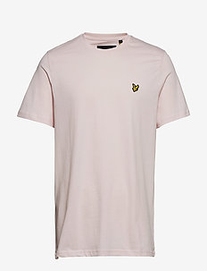 Crew Neck T-Shirt - kortærmede t-shirts - strawberry cream