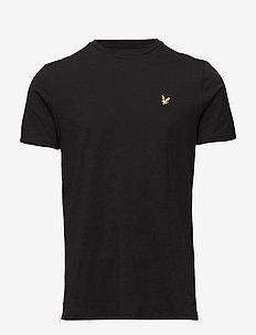 Crew Neck T-Shirt - TRUE BLACK