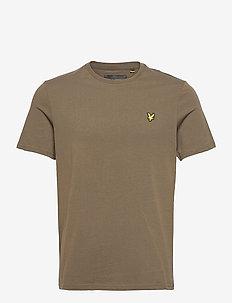 Plain T-Shirt - basis-t-skjorter - trek green