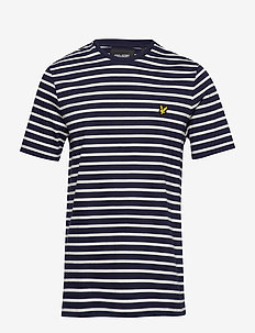 Breton Stripe T-shirt - NAVY/SNOW WHITE