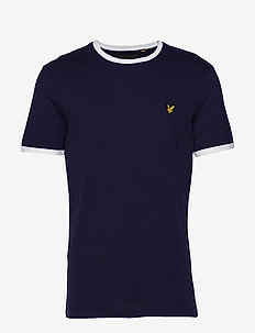 Ringer T-Shirt - NAVY/WHITE