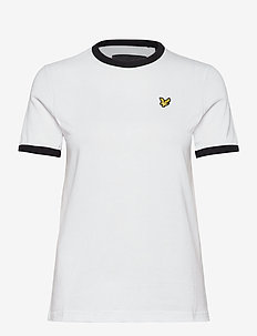 Ringer T-shirt - t-shirty - white