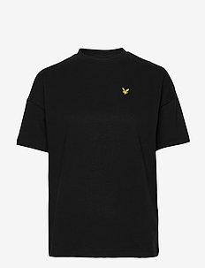 Oversized T-shirt - t-shirts - jet black