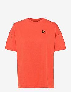 Oversized T-shirt - t-shirts - paprika orange