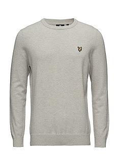 lyle & scott hoodie Rea, Lyle Scott Man Stickade tröjor