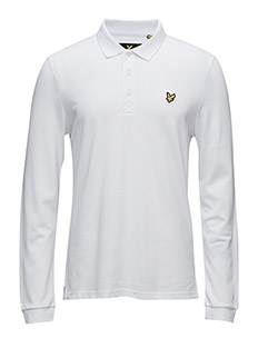 LS Polo Shirt - WHITE