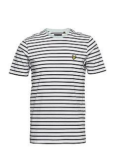 Breton Stripe T-shirt - WHITE