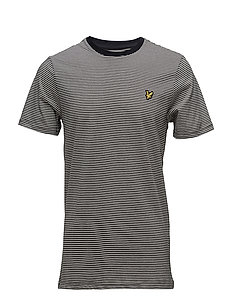Feeder Stripe T-shirt - TRUE BLACK