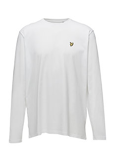 LS Crew Neck T-Shirt - WHITE