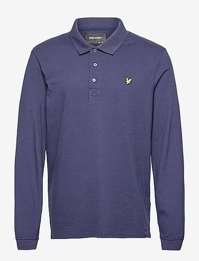 LS Polo Shirt - långärmade pikéer - navy