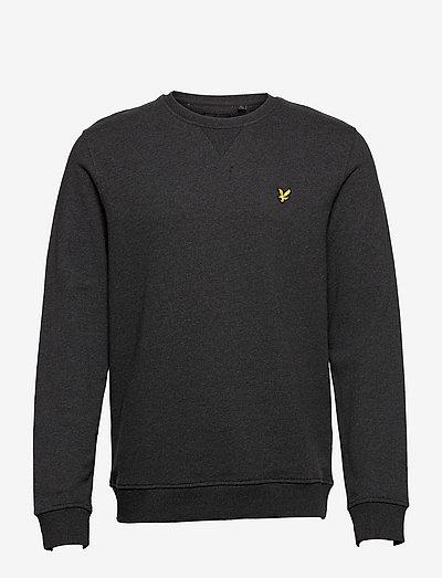 Crew Neck Sweatshirt - tøj - charcoal marl