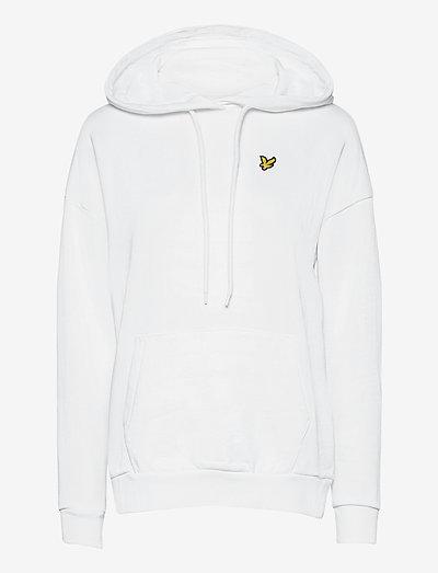Hoodie - sweatshirts & hoodies - white
