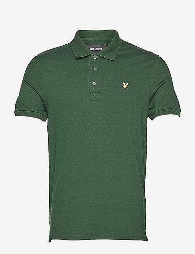Plain Polo Shirt - poloshirts - dark green