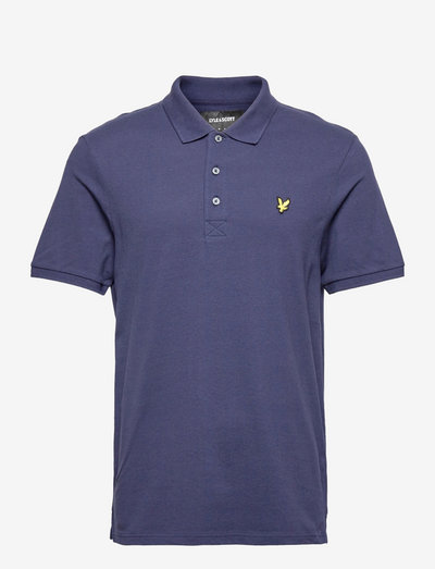 Plain Polo Shirt - poloshirts - navy