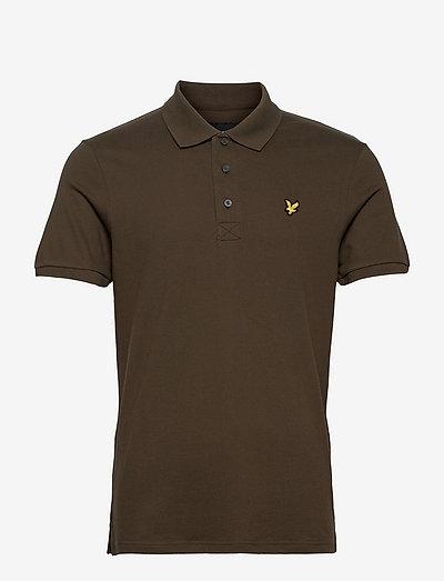 Plain Polo Shirt - poloshirts - olive