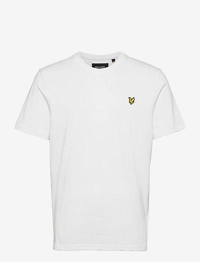 Plain T-Shirt - basic t-shirts - white