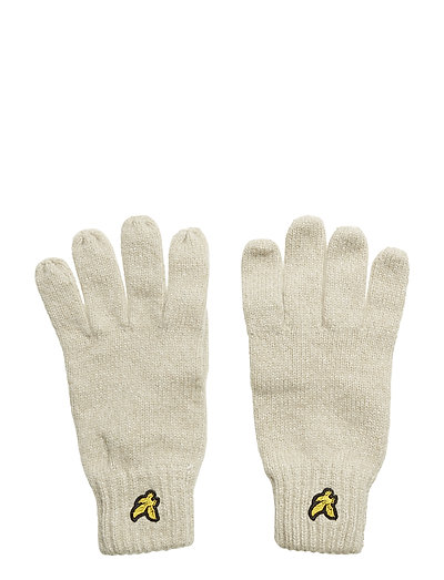 Mouline Gloves - SEASHELL WHITE