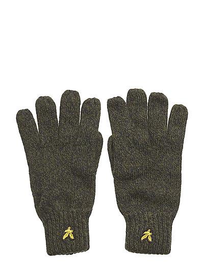 Mouline Gloves - WOODLAND GREEN