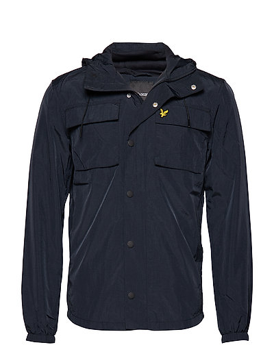 Pocket Jacket Gefütterte Jacke Blau LYLE & SCOTT