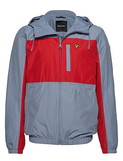 Colour Block Zip Through Jacket Dünne Jacke Bunt/gemustert LYLE & SCOTT