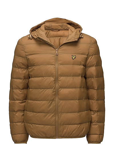 Lightweight Puffer Jacket - DARK GOLD
