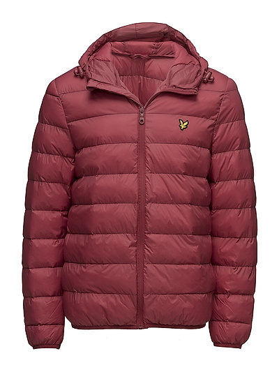 Lightweight Puffer Jacket - POMEGRANATE