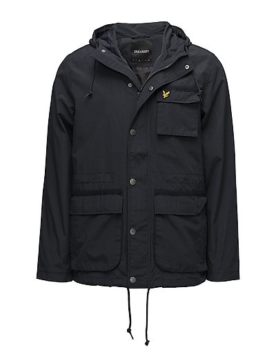 Hooded Jacket - DARK NAVY