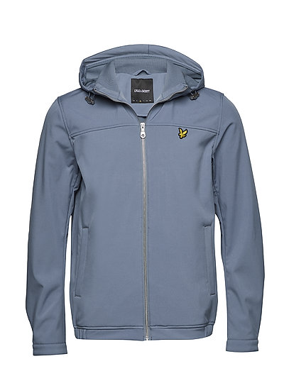 Hooded Softshell Jacket - MIST BLUE