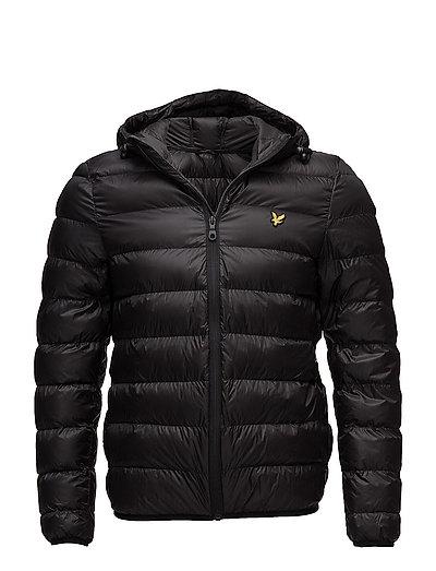 Lightweight Puffer Jacket - TRUE BLACK