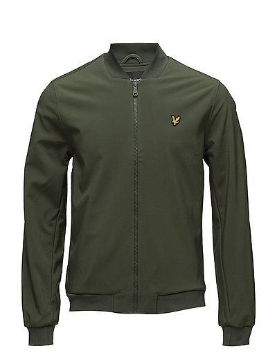 Softshell Plain Bomber - WOODLAND GREEN