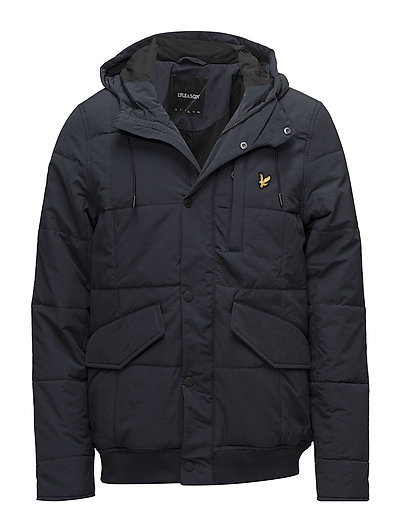 Wadded Hooded Bomber - DARK NAVY