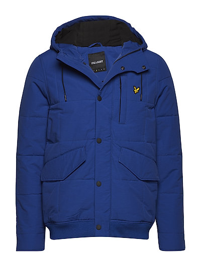 Wadded Hooded Bomber - DUKE BLUE