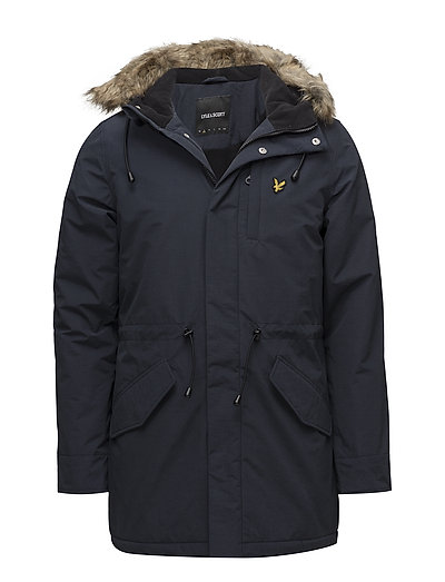 Winter Weight Microfleece Lined Parka Parka Jacke Blau LYLE & SCOTT