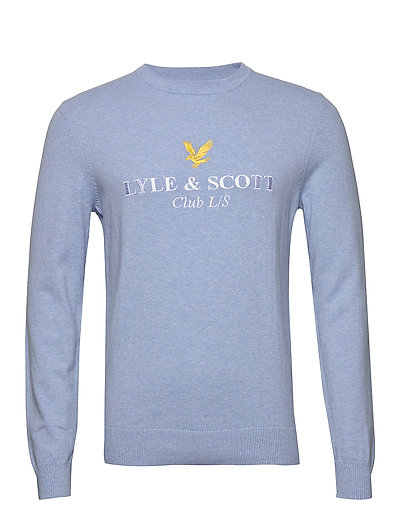 Club L/S Knitted Jumper Strickpullover Rundhals LYLE & SCOTT