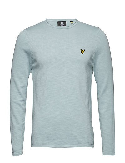 Rolled Neck Jumper - POWDER BLUE