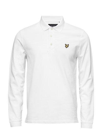 LS Polo Shirt - WHITE