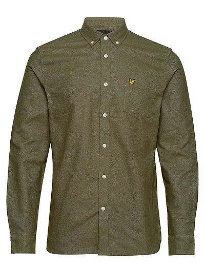 Mottled Shirt Hemd Casual Grün LYLE & SCOTT