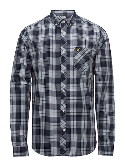 Check Shirt - NAVY