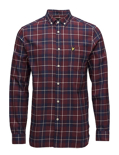Check Flannel Shirt - CLARET JUG