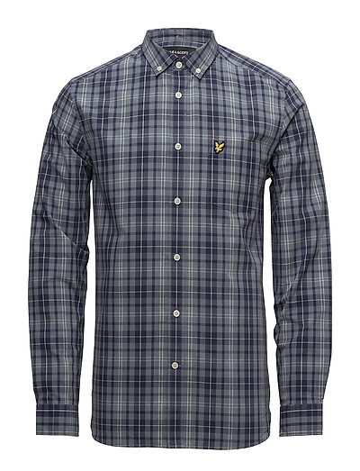 Check Shirt - MIST BLUE