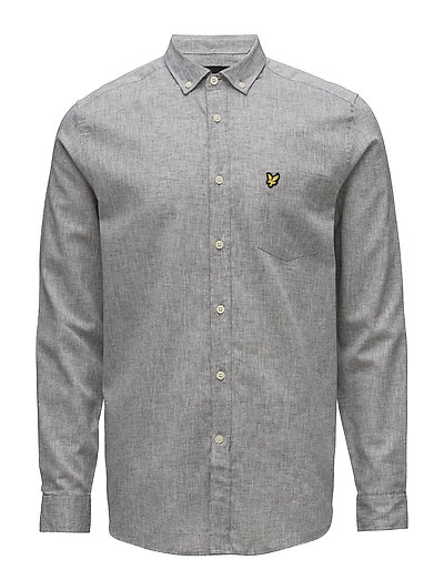 Cotton Linen Shirt - URBAN GREY