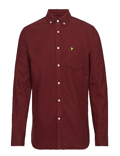 Winter Weight Flannel Shirt - CLARET JUG