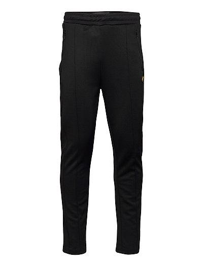 Tricot Sweatpant With Side Stripe Sweatpants Jogginghose Schwarz LYLE & SCOTT
