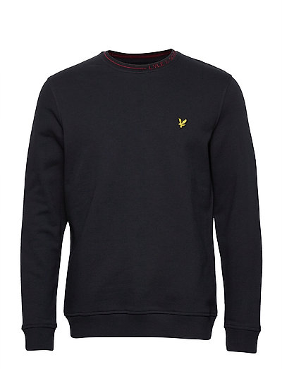 Branded Ringer Sweatshirt Sweat-shirt Pullover Blau LYLE & SCOTT